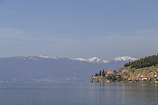 A medieval Orthodox church on Lake Ohrid, in Macedonia - 16856-850