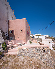 Exterior view of Kythera Castle Studio in Kythera island Greece by architects R - 16857-140