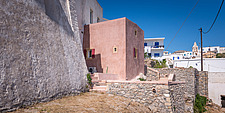 Exterior view of Kythera Castle Studio in Kythera island Greece by architects R - 16857-150