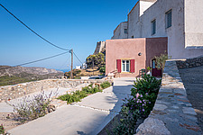 Exterior view of Kythera Castle Studio in Kythera island Greece by architects R - 16857-30