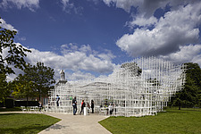 Temporary architectural installation, the Serpentine Pavilion 2013, Kensington Gardens, London, England, UK - 14858-30-1
