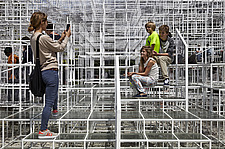 Temporary architectural installation, the Serpentine Pavilion 2013, Kensington Gardens, London, England, UK - 14858-60-1