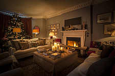 Annoushka Ducas home in Chichester showing Christmas decorations - 14877-120-1