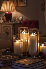 Annoushka Ducas home in Chichester showing Christmas meal decorations - 14877-130-1