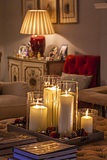 Annoushka Ducas home in Chichester showing Christmas decorations - 14877-160-1