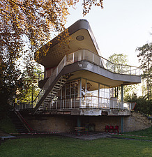 Modernist, Bauhaus style house by Hans Scharoun 1930-33, Lusatia, Germany - 40085-30-1