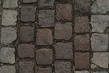 Close up of square grey paving blocks - 10639-210-1