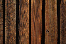 Close up of a rich brown close-boarded fence - 10639-230-1
