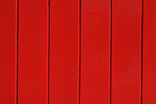 Close up of a red painted timber building - 10639-270-1