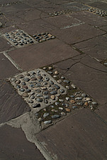 Close up of paving and cobbles - 10639-400-1