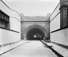Rotherhithe Tunnel, Rotherhithe, Southwark, London - 16897-1780
