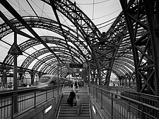 Dresden Hauptbahnhof, Dresden, Germany is the largest passenger station in the Saxon capital of Dresden - 13460-70-2