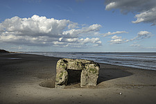Pillbox, Withow Gap, Off Hornsea Road, Skipsea, East Riding of Yorkshire - 16897-2360