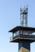 Ardrossan Harbour Control Tower, Ayrshire, Scotland - 16938-20
