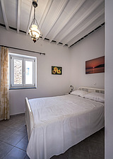 Interior view of bedroom, vernacular house renovation in Sifnos island Greece by Katerina Komi - 16942-150