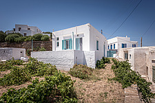Exterior view of vernacular house renovation in Sifnos island Greece by Katerina Komi - 16942-20