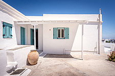 Exterior view of vernacular house renovation in Sifnos island Greece by Katerina Komi - 16942-30