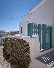 Exterior view of vernacular house renovation in Sifnos island Greece by Katerina Komi - 16942-50