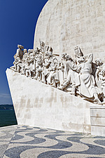 Prince Henry the Navigator leading the Monument to the Discoveries in Belem, Lisbon - 16956-20