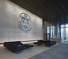 Main lobby, US Embassy, London - ARC100954