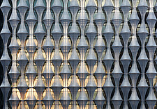 Outer envelope detail, US Embassy, Nine Elms, London - ARC100960