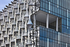 Facade detail, US Embassy, Nine Elms, London - ARC100970