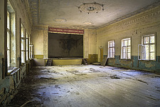 an abandoned theatre in Chernobyl - ARC101583
