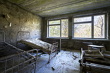inside of the abandoned hospital 126 in Chernobyl - ARC101602