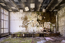 inside of the abandoned hospital 126 in Chernobyl - ARC101605