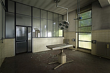 inside of an abandoned animal testing facility in Italy - ARC101277