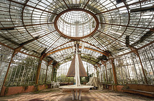 an abandoned greenhouse in France - ARC101415