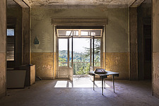 a room in an abandoned hospital in Italy - ARC101448
