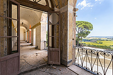 from the balcony of an abandoned villa in Italy - ARC101502