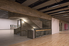 The new interior of the Hayward Gallery, a world-renowned contemporary art gallery and landmark of Brutalist architecture on London's South Bank - ARC102072