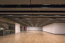 The new interior of the Hayward Gallery, a world-renowned contemporary art gallery and landmark of Brutalist architecture on London's South Bank - ARC102073