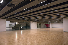 The new interior of the Hayward Gallery, a world-renowned contemporary art gallery and landmark of Brutalist architecture on London's South Bank - ARC102074