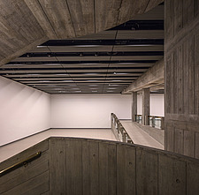 The new interior of the Hayward Gallery, a world-renowned contemporary art gallery and landmark of Brutalist architecture on London's South Bank - ARC102076