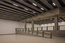 The new interior of the Hayward Gallery, a world-renowned contemporary art gallery and landmark of Brutalist architecture on London's South Bank - ARC102085