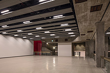 The new interior of the Hayward Gallery, a world-renowned contemporary art gallery and landmark of Brutalist architecture on London's South Bank - ARC102089
