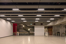 The new interior of the Hayward Gallery, a world-renowned contemporary art gallery and landmark of Brutalist architecture on London's South Bank - ARC102092