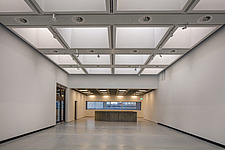 The new interior of the Hayward Gallery, a world-renowned contemporary art gallery and landmark of Brutalist architecture on London's South Bank - ARC102102