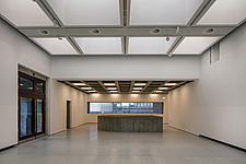 The new interior of the Hayward Gallery, a world-renowned contemporary art gallery and landmark of Brutalist architecture on London's South Bank - ARC102103