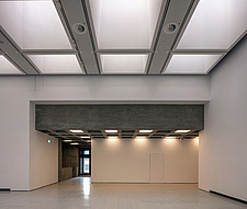 The new interior of the Hayward Gallery, a world-renowned contemporary art gallery and landmark of Brutalist architecture on London's South Bank - ARC102107