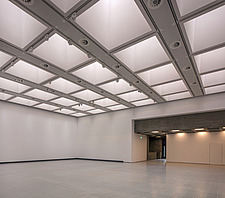 The new interior of the Hayward Gallery, a world-renowned contemporary art gallery and landmark of Brutalist architecture on London's South Bank - ARC102108