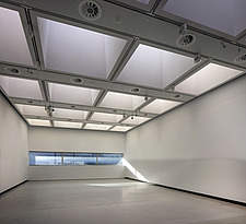 The new interior of the Hayward Gallery, a world-renowned contemporary art gallery and landmark of Brutalist architecture on London's South Bank - ARC102114