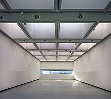 The new interior of the Hayward Gallery, a world-renowned contemporary art gallery and landmark of Brutalist architecture on London's South Bank - ARC102115