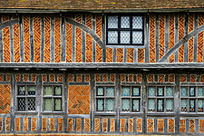 Exterior of Historical Moot Hall, Aldeburgh, Suffolk, UK - ARC103416