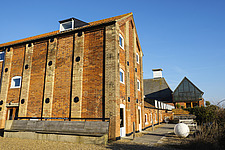 Exterior of Britten-Pears Building, Snape Maltings, Snape, Suffolk, UK - ARC103459