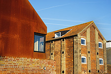 Exterior of Britten-Pears Building ##38; Dovecot Studio, Snape Maltings, Snape, Suffolk, UK - ARC103460