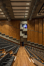 The restored Purcell Room at the Queen Elizabeth Hall, Southbank Centre, London - ARC103589